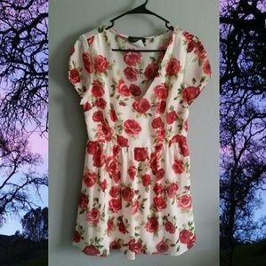 Floral summer dress 🌹